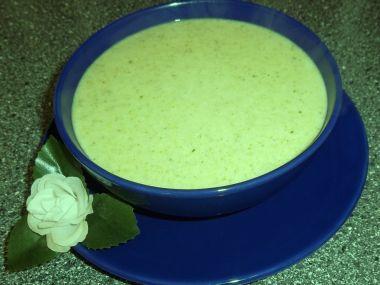 Anetčina brokolicová polévka se smetanou