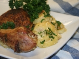 Kuře s bramborami na smetaně recept