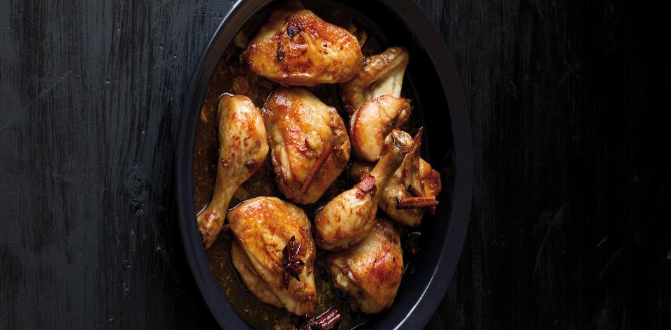 Kuře na čínský způsob s česnekem