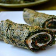 Špenátové rolky s mozzarellou recept
