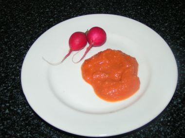 Domácí zeleninovo cuketová hořčice