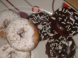 Mini donuts ( donutky )  vdolky, koblížky recept