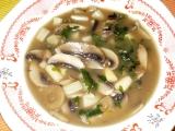 Polévka z houbiček recept