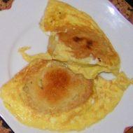 Knedlík ve vajíčku se slaninou recept
