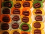 Kávová zrna (piškotová) recept