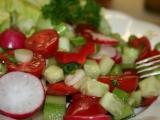 Salát Fattoush recept