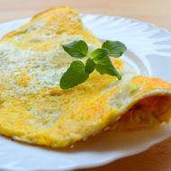 Vaječná omeleta s parmazánem recept