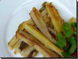 Pečené mangoldové řapíky recept