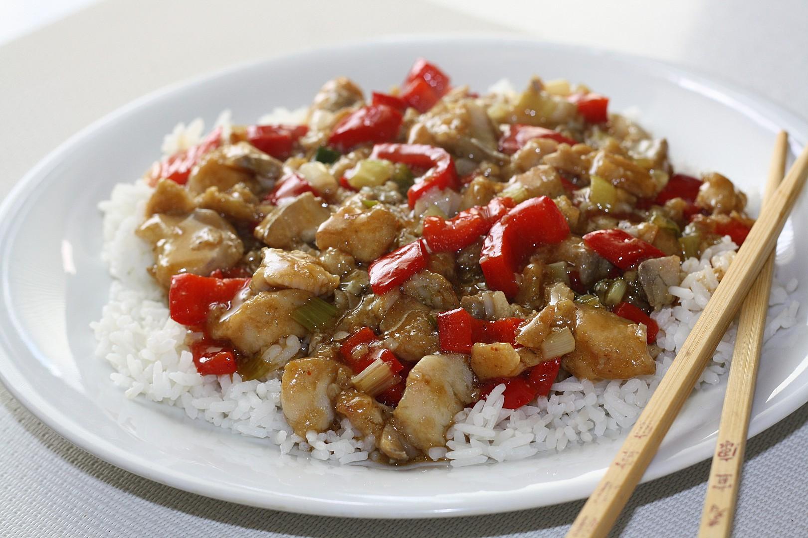 Yü La'C  čínská nakládaná ryba recept