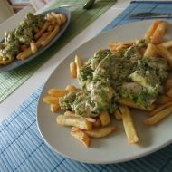 Kuřecí s nivou a brokolicí recept