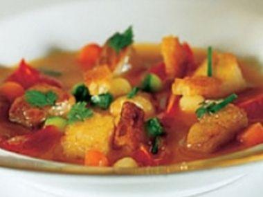 Čínská rybí polévka