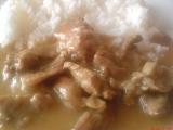 Pikantní vepřové nudličky se zázvorem recept