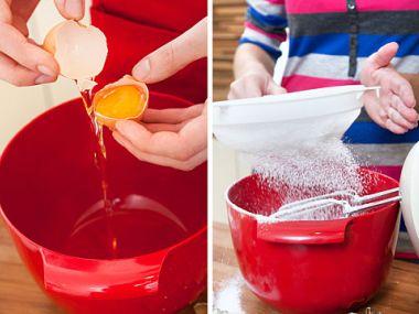 Recept Tradiční bílková poleva