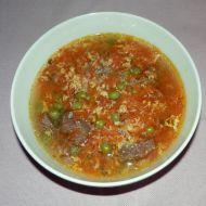 Netradiční hovězí polévka recept