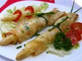 Chřest v bylinkových omeletkách recept