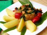 Mořská štika s paprikou a medvědím česnekem recept  TopRecepty ...
