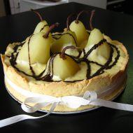 Hruškový dort recept
