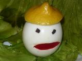 Ozdoby z vajec recept