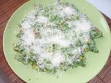 Smetanové rizoto se špenátem recept