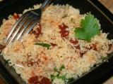 Pikantní kuskus se sušenými rajčátky a kuřecím masem recept ...