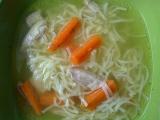 Kuřecí nudlová polévka recept