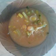Pórková polévka s droždím recept