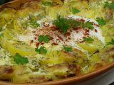 Brambory zapečené s vejci v koprové smetaně recept