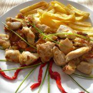 Čínské maso s mandlemi recept