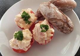 Jednoduchá plněná rajčata recept
