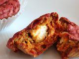 Muffiny z červené řepy s kozím sýrem recept
