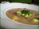 Fazolová polévka s uzeným masem recept