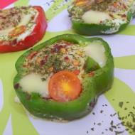 Sázená vejce v paprikovém kroužku recept