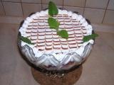 Ovocná mísa s krémem z bílé čokolády recept