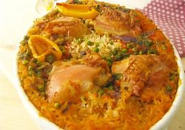 Pilaf s kuřecím masem uvařeným v polévce recept