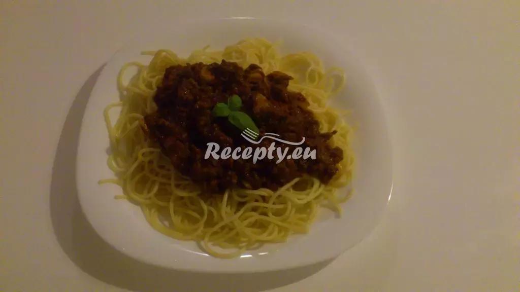 Milánské špagety recept  těstoviny