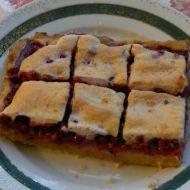 Babiččin rybízový koláč recept