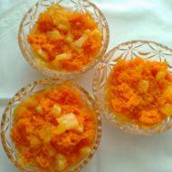 Mrkvový salát s ovocem recept