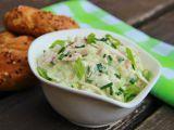 Kedlubnový salát se šunkou a tatarkou recept