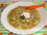 Zeleninová polévka s flíčky recept