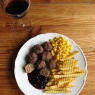 Masové kuličky na víně recept