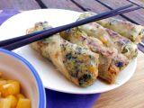 Rýžové závitky se špenátem a uzeným Šmakounem recept ...