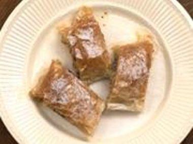 Jogurtový jablkový závin  dia 7,4 S