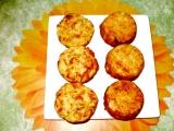Bramborové muffiny se dvěma sýry recept