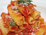 Zapečené plněné tortiglioni recept