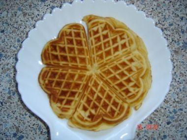 Recept Smetanové wafle