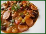 Fazolový guláš recept