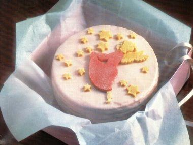 Andělský marcipánový dort