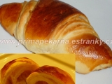 Máslové croissanty s omládkem recept