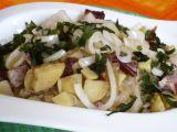 Zapekanec z kysaného zelí, brambor a uzeného masa recept ...