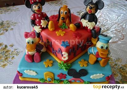 Dort Mickeyho klubík recept